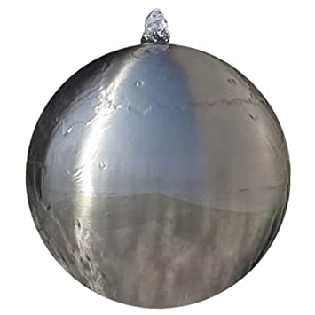 vidaXL Fuente Decorativa de Tipo Bola con Leds para jardín ...