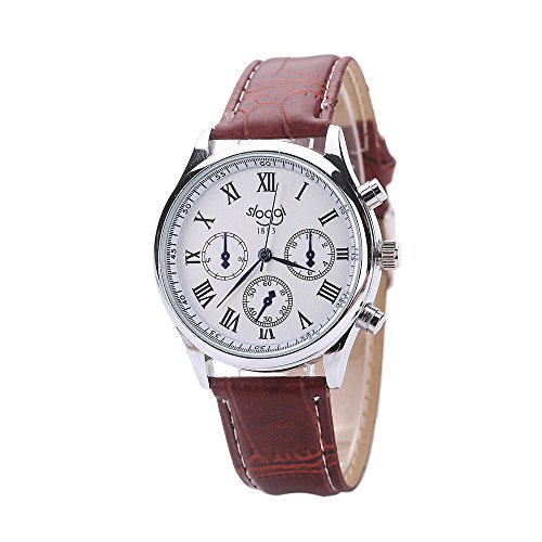 Linmkey Men General Business Leather Strap Quartz Watch Casual Watches Fashion Sports Cheap Mens Watches
