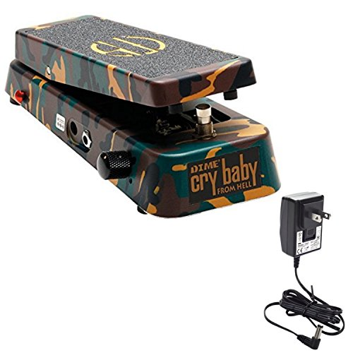 Dunlop DB-01 Dime Crybaby From Hell Wah Pedal w/ 9V Power Supply