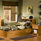Bundle-17 Billy Twin Mates Captain Bedroom Collection (2 Pieces)
