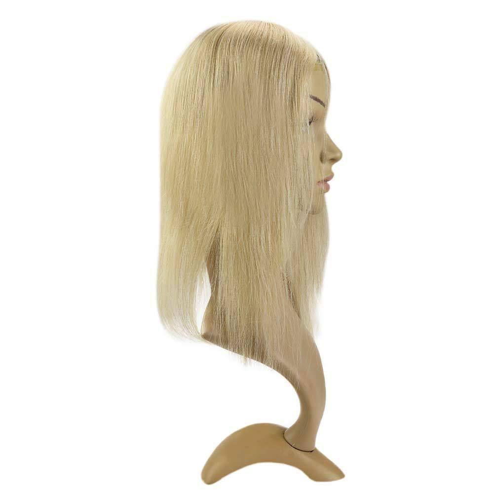 LaaVoo Hair Toppers para Mujeres 12 Pulgadas #P14/60 Rubio más ...