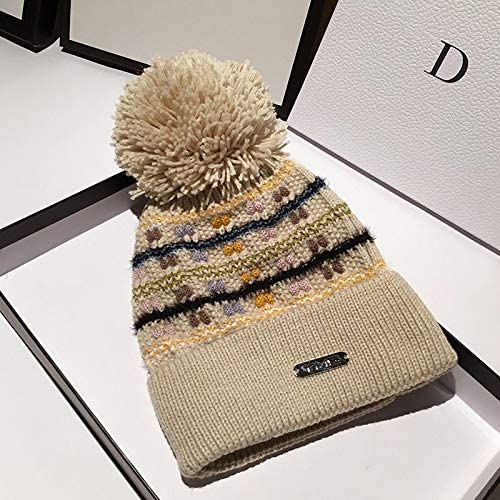 Hat Hat Autumn Winter Wool...