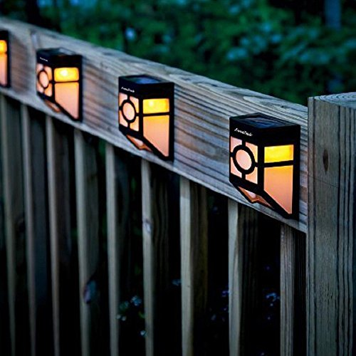 Solar Powered Pillar Lights - 3