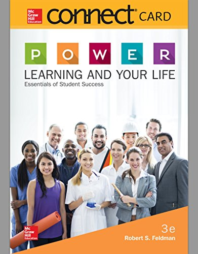 Connect Access Card for P.O.W.E.R. Learning and Your Life: Essentials of Student Success