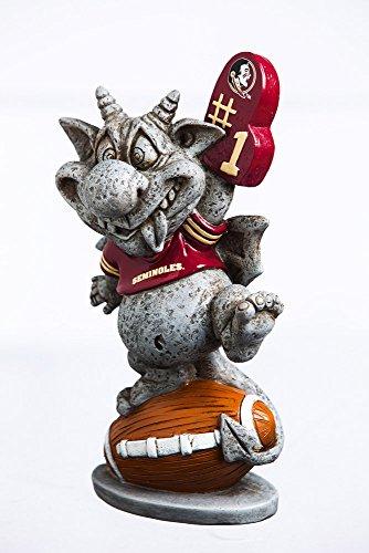 Team Sports America Florida State Seminoles GOgoyle Garden Statue (State Seminoles Florida Charm Logo)