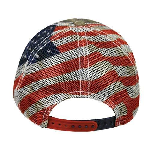 Dodge Ram Mossy Oak Country Americana Patriotic Hat / Cap