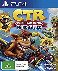 Crash Team Racing Nitro Fueled (PlayStation 4)
