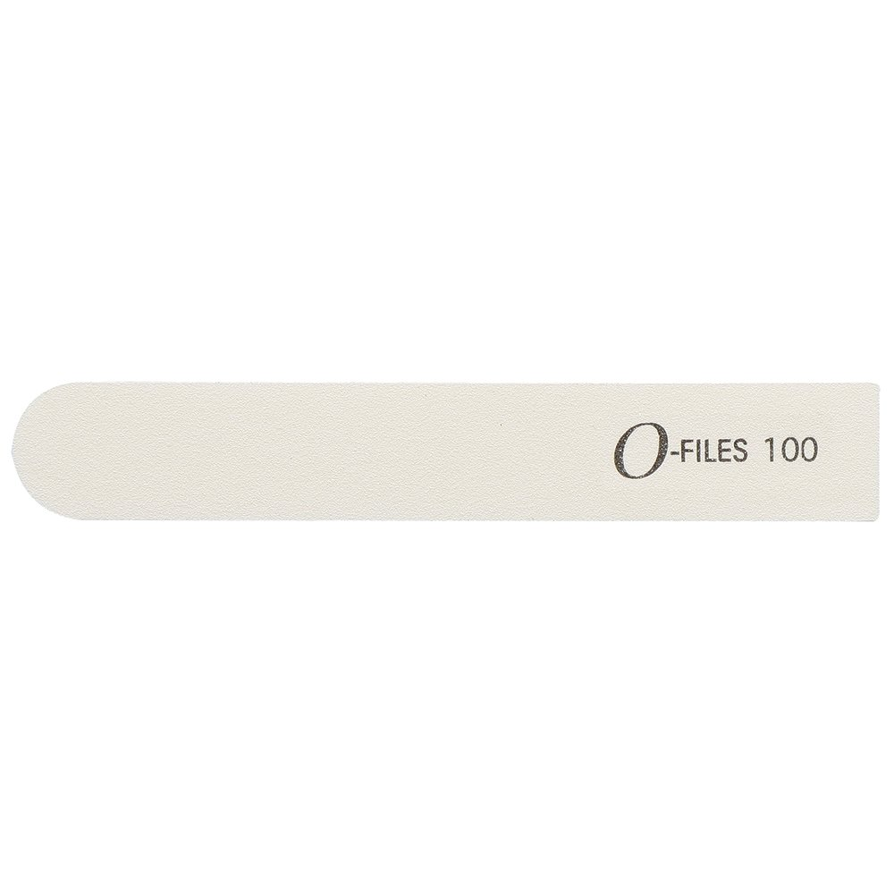 For Pro O-Files Replaceable 100 Grit Mani File System Refills, White, 50 Count by ForPro