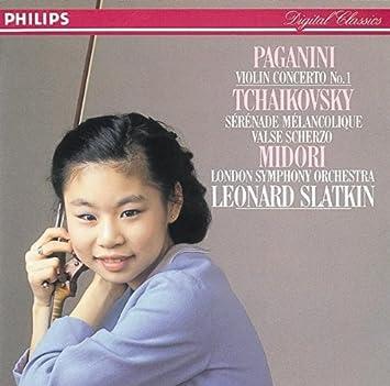 「MIDORI / Paganini Violin Concerto No.1 / 第一楽章 Allegro maestoso」の画像検索結果