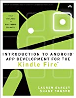 Introduction to Android App Development for the Kindle Fire Front Cover
