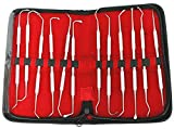 BDEALS 12 Pcs Sinus Lift Instruments set Implant Dental Solid Handle Light Weight