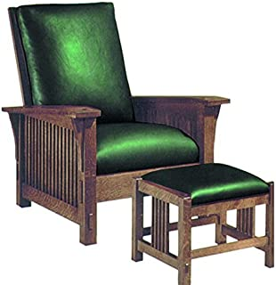 Build Your Own Spindle Arm Morris Chair Plan   American Furniture Design