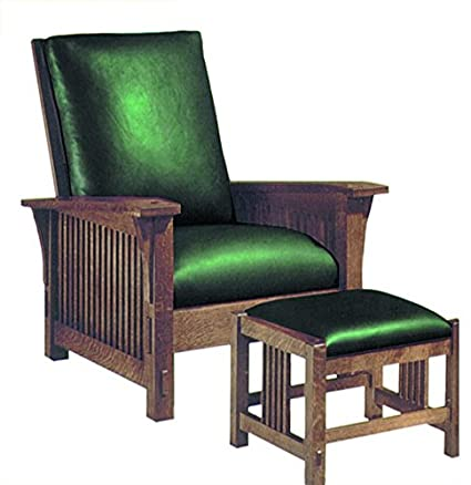 Build Your Own Spindle Arm Morris Chair Plan American Furniture