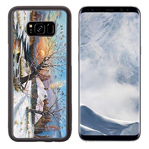 Liili Premium Samsung Galaxy S8 Plus Aluminum Backplate Bumper Snap Case Copy of a picture of Russian artist Klevera Photo 6386394 Simple Snap - Copy Hut