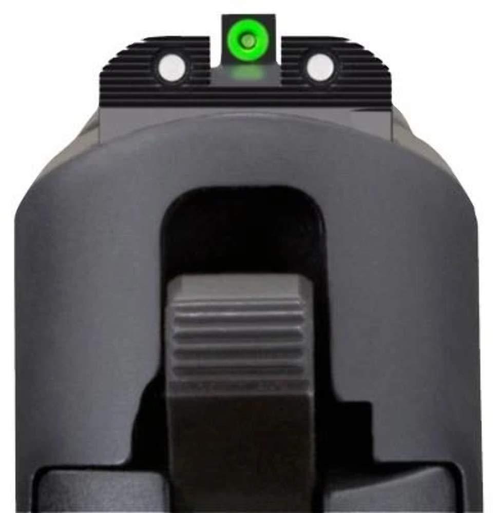 Sig Sauer (SOX10001) X-Ray Enhanced Visibility Sight Square Notch Set, Green