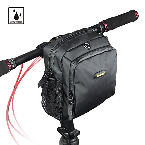 Handlebar Bag Bicycle - Rhinowalk Bike Handlebar Bag,Bike Front Bag Road Bike Bag Bike Frame Bag Bike Basket Bag Bicycle Bag Professional Cycling Accessories