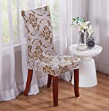 TDLC Anti-fouling home upholstery hotel chair package upholstery twin elastic upholstery office computer seat upholstery, Louis Gray