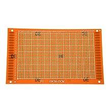 SODIAL(R) DIY PCB Prototype Solderable Copper Veroboard Stripboard 90mmx150mm