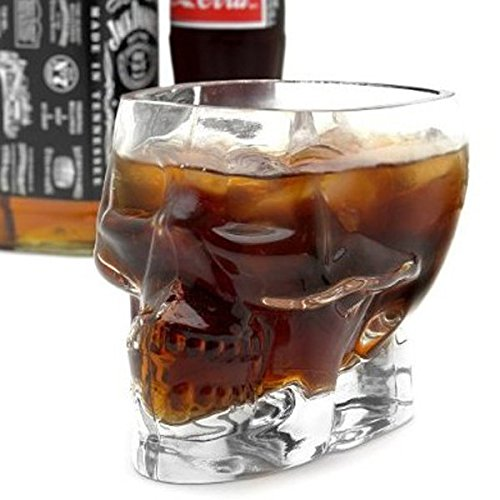 Hiquty New Crystal Skull Head Vodka Whiskey Shot Glass Cup Drinking Ware for Home - Sunglasses Review Ie