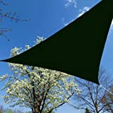 Blue Dot Trading Triangle Shade Sail, 12 by 12 by 12-Inch, Green