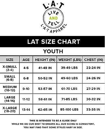 LAT Youth Jersey Crew Neck Short Sleeve Football Tee