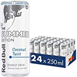 Red Bull Energy Drink Summer Edition - Coconut Twist (Pack of 24) (White)