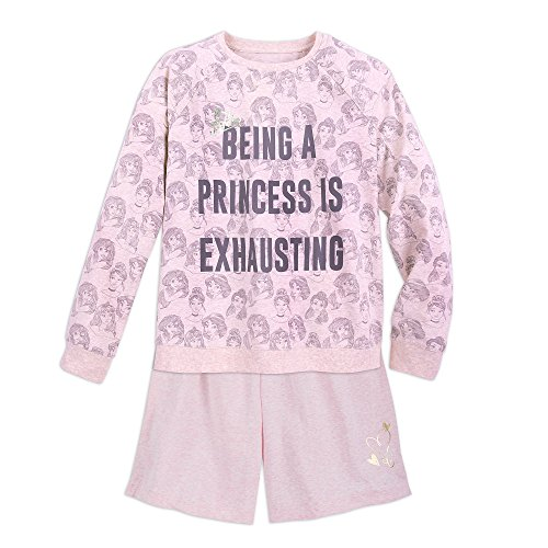 Disney Princess PJ Set for Women Size Ladies XS Multi Disney Store Princess Pj