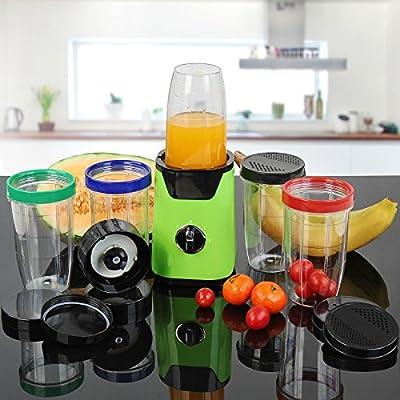 Licuadoras Para Verduras y Frutas - Verde y Negro, Vaso para Batir ...