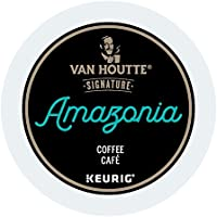 Van Houtte Amazonia Single Serve Keurig Certified Recyclable K-Cup pods for Keurig brewers, 24 Count