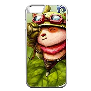 Teemo-002 League of Legends LoL case cover for Apple iPhone 6 Plus - Rubber White