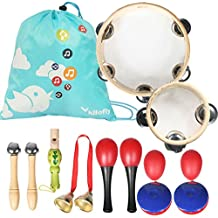 KF baby kilofly Kids Mini Band Musical Instruments Rhythm Toys Value Pack [Set of 12]