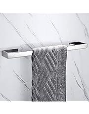 Celbon 40cm zelfklevende badkamer handdoek bar SUS 304 roestvrij staal handdoek bar rail voor badkamer en keuken zonder boren