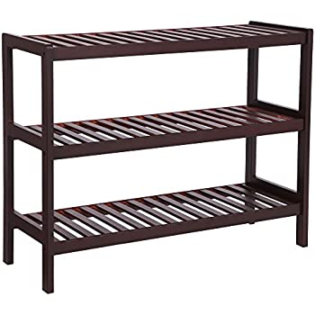 7d5ef041a6c2 Amazon.com: Merry Products SLF0020110000 4-Tier Outdoor Shoe Rack ...