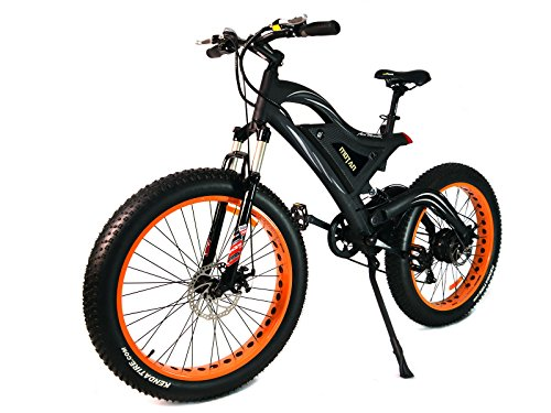 Addmotor MOTAN Electric Snow Beach Mountain Bike 26 Inch Fat Tire 500W Motor Power Plus Full Suspension Electric Bicycle M-850 E-bike+Fenders For Gifts