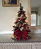 Ideal Sized Portable Topiary Tree, 24'' Cordless w/ Lights and Timer FREE SHIPPING