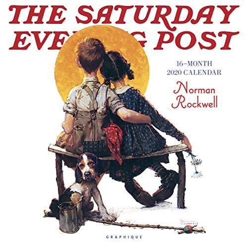 Graphique Saturday Evening Post Wall Calendar - 16-Month 2020 Calendar, 12