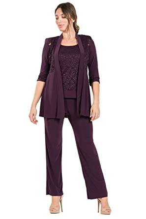 934df75cc6d R M Richards Mother of The Bride Formal Pant Suit at Amazon Women s  Clothing store