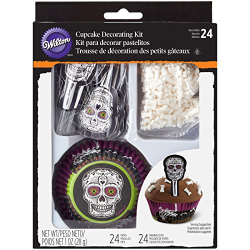 Wilton Deadly Soiree 24-Count Cupcake Combo Pack]()