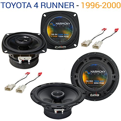 Jbl Speakers Car Stereo (Fits Toyota 4 Runner 1996-2000 Factory Speaker Upgrade Harmony R65 R4 Package New)