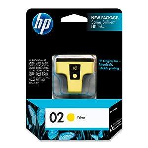 HP C8773WN#140 02 Yellow Original Ink Cartridge (C8773WN)