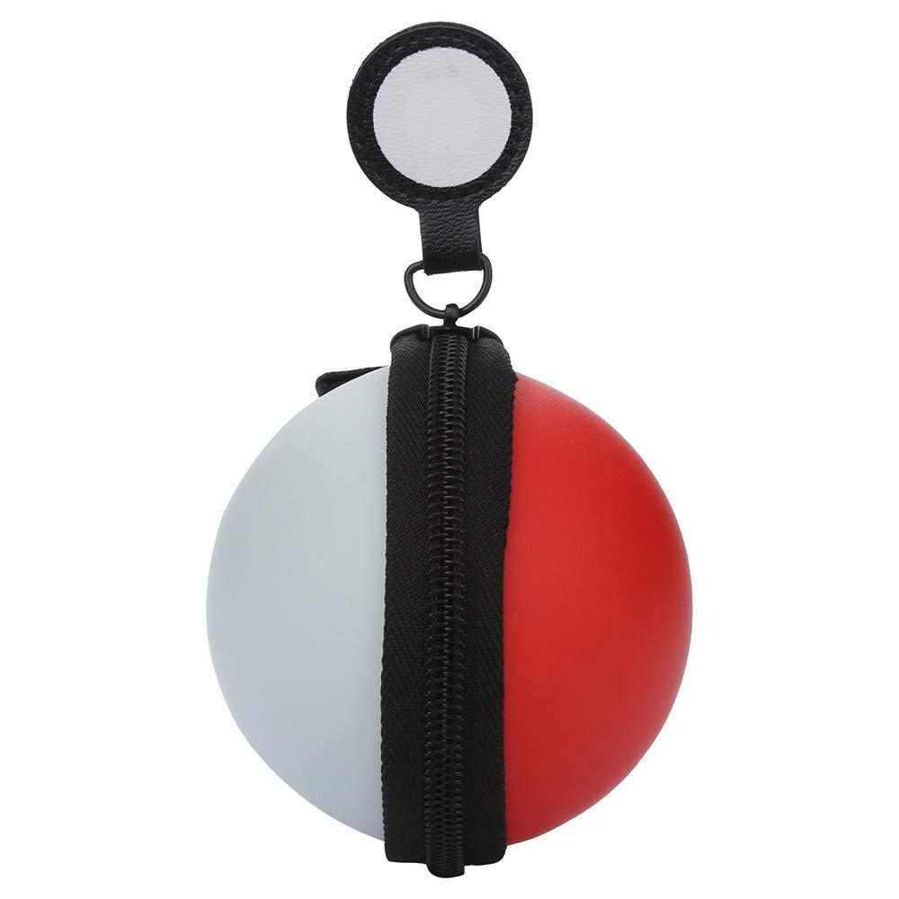 TAOtTAO Schalten Sie Poke Ball Plus Tragetasche fü r Switch Poke Ball und Controller Eevee Game Bag (A)