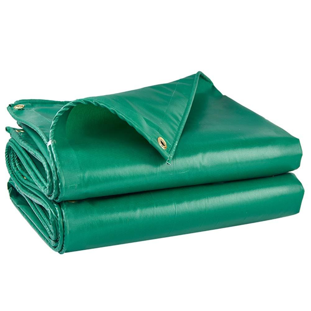 Pioggia Incatramata Panno di Plastica Antipioggia A Doppia Faccia Protezione Solare Antipioggia Ispessimento Esterno Muffa A Prova di umidità HENGXIAO (colore   verde, Dimensioni   4  5m)