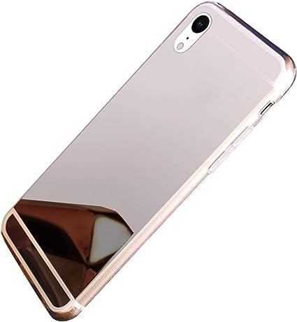 Hpory Specchio Cover compatibile con iPhone XR Morbido Gel ...