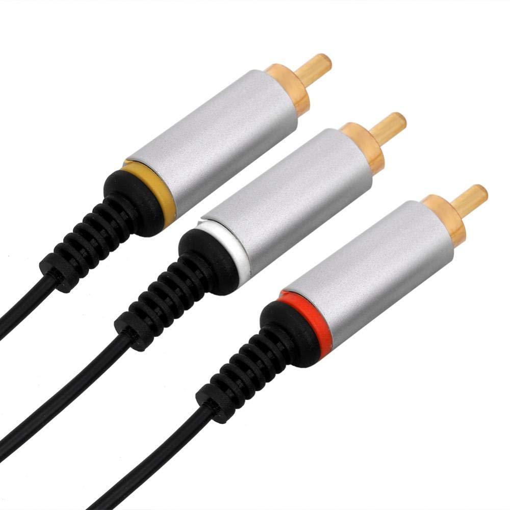 Zerone Cable de Audio y v/ídeo para PSP 1000 2000 3000 1,5 m