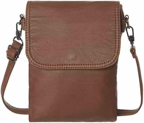 fac15bae7 AOCINA Mini Crossbody Cell Phone Purse Credit Card Slots Small Crossbody Bag  for Women
