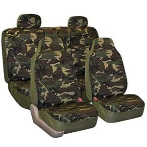 Amazon Com Fh Group Fh Fb109114 Camouflage Car Seat