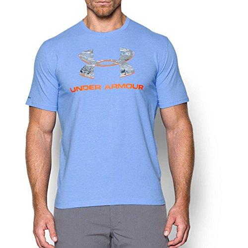- Under Armour Men's Camo Fill Logo T-Shirt, Carolina Blue (475), X-Large