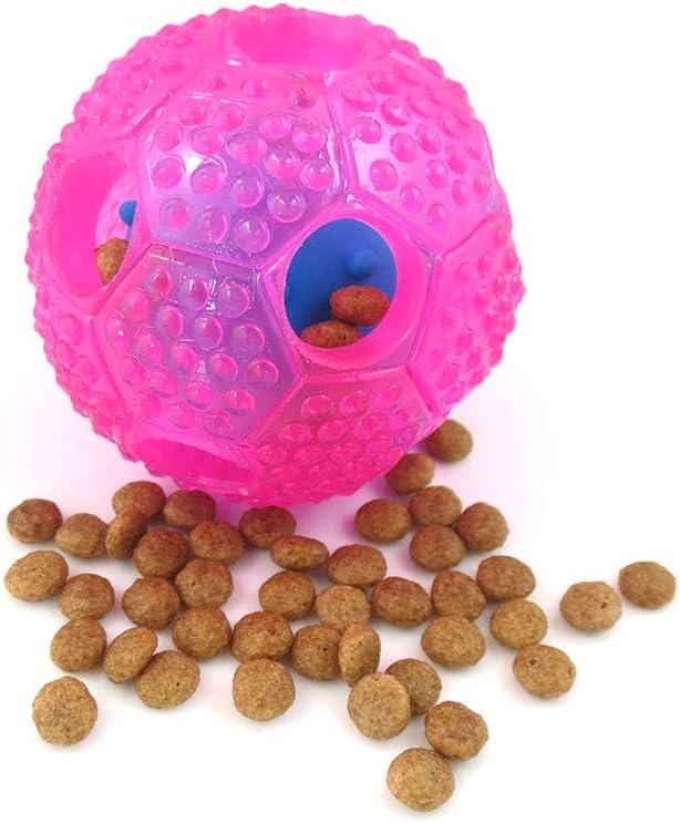Compra Zerama Pet Toy - Futbolín de dispersión del bolo alimentario, morder, Perder, Gato, Perro para Masticar Tooth Puzzle Esfera Materiales de formación en Amazon.es