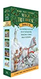 img - for Magic Tree House Boxed Set, Books 13-16: Vacation Under the Volcano, Day of the Dragon King, Viking Ships at Sunrise, and Hour of the Olympics book / textbook / text book