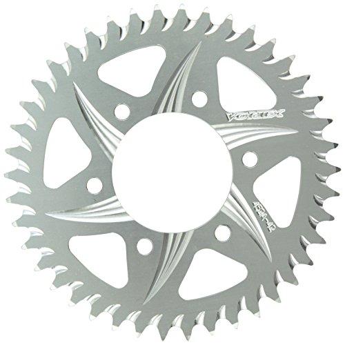 (Vortex 452A-42 Silver 42-Tooth 520-Pitch Rear Sprocket)